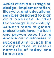 AirNet Communications Services